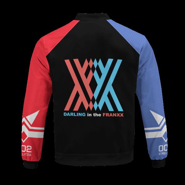 002 franxx bomber jacket 138296 - Anime Jacket