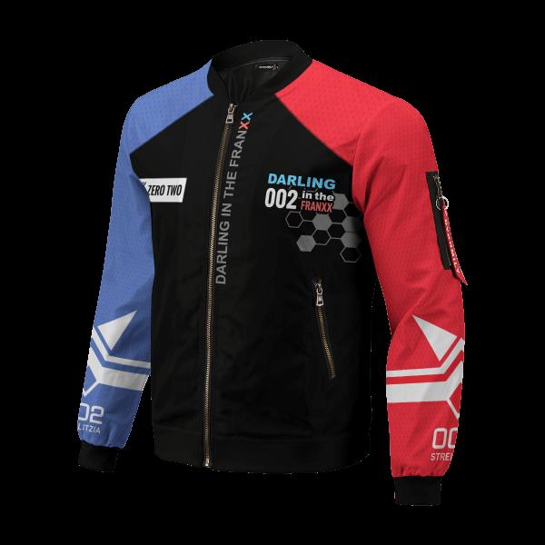 002 franxx bomber jacket 205971 - Anime Jacket