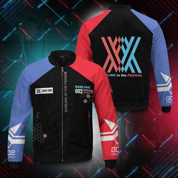 002 franxx bomber jacket 254157 - Anime Jacket