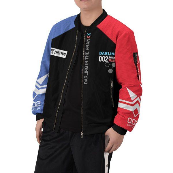 002 franxx bomber jacket 284998 - Anime Jacket