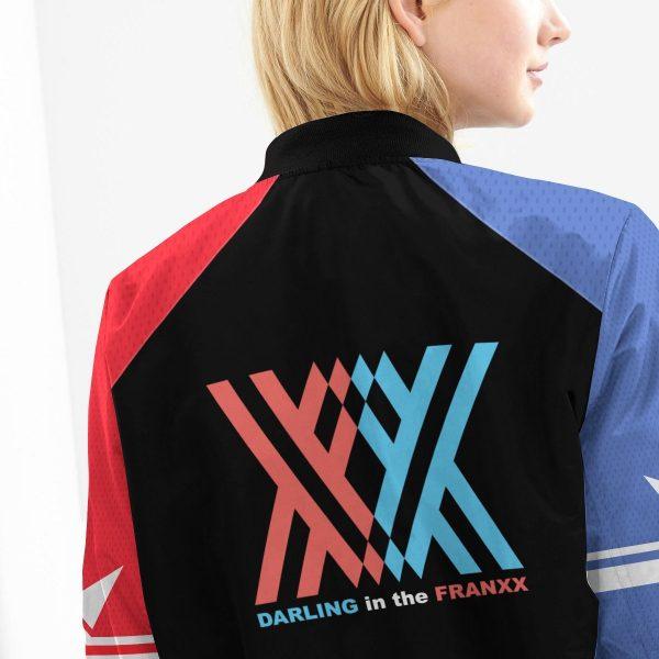 002 franxx bomber jacket 409217 - Anime Jacket