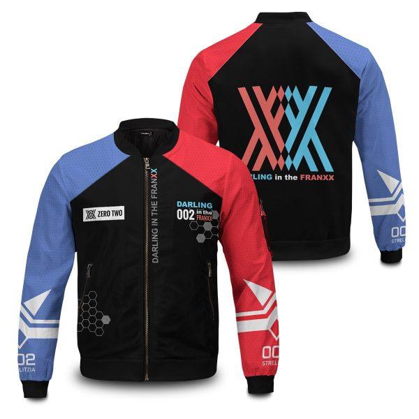 002 franxx bomber jacket 633580 - Anime Jacket