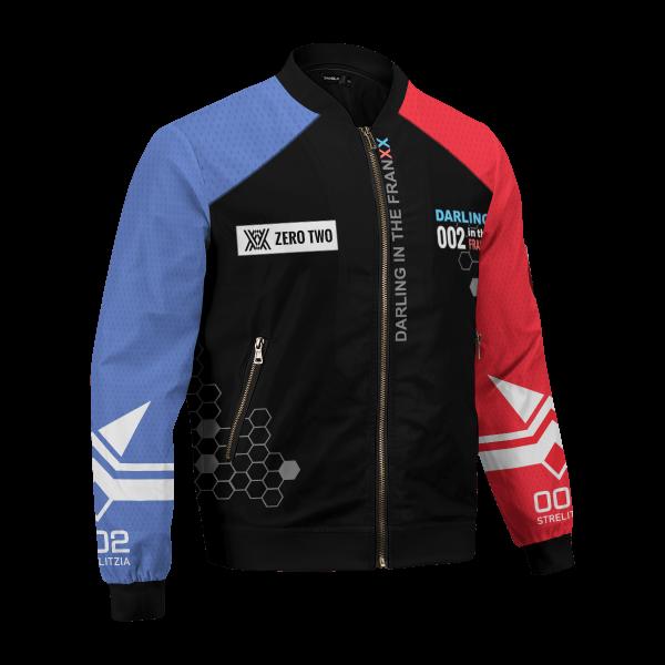 002 franxx bomber jacket 722136 - Anime Jacket