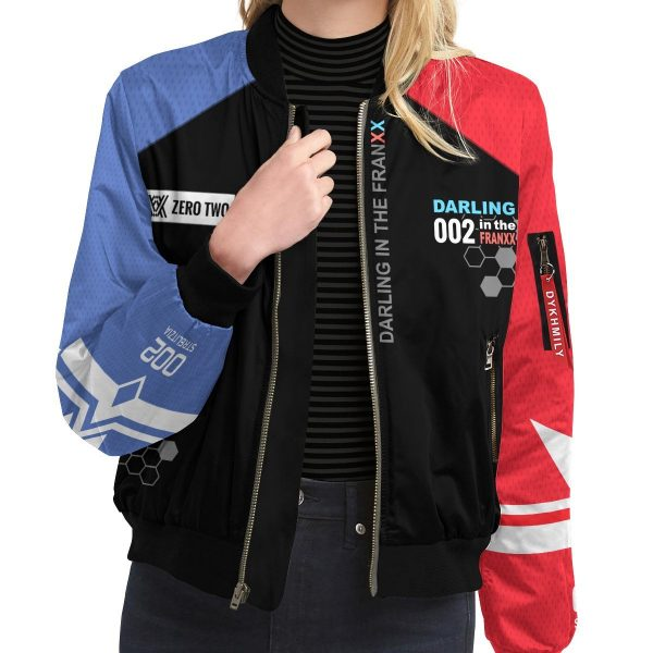 002 franxx bomber jacket 956749 - Anime Jacket
