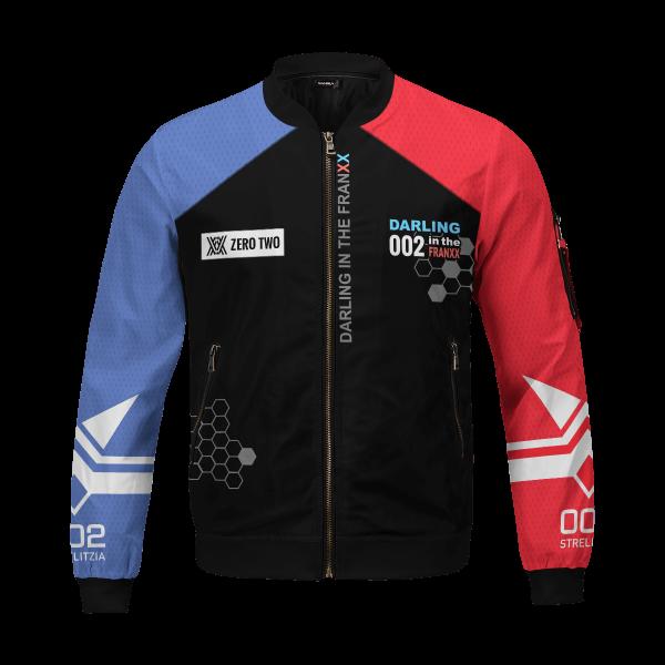 002 franxx bomber jacket 967535 - Anime Jacket