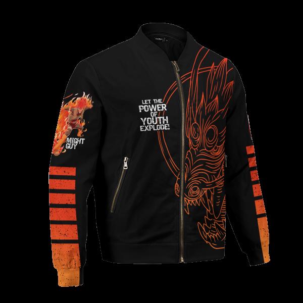 BomberJacketIGuypowerofyouth 03 hpright - Anime Jacket