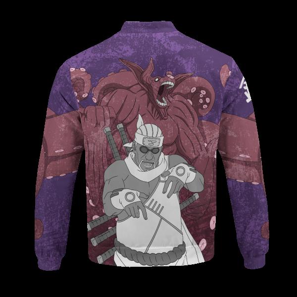 BomberJacketIKillerBeeGyuki 06 back - Anime Jacket