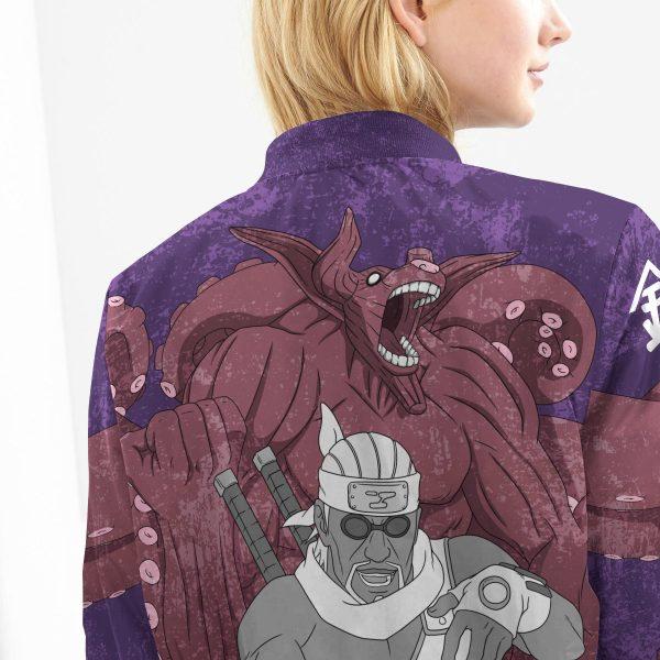 BomberJacketIKillerBeeGyuki 10 girlmodelback - Anime Jacket