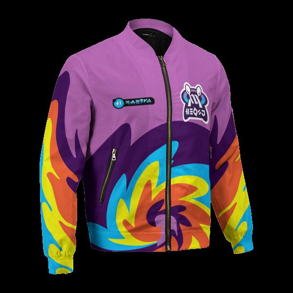BomberJacketIPokemonPsychicUniform 03 hpright - Anime Jacket