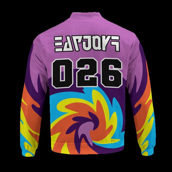 BomberJacketIPokemonPsychicUniform 06 back - Anime Jacket