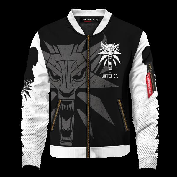 BomberJacketIWolfSchool front - Anime Jacket