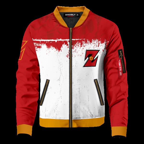 Bomber Jacket I Ki Sense front - Anime Jacket