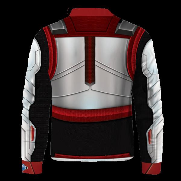Bomber Jacket I Quantum Suit back - Anime Jacket