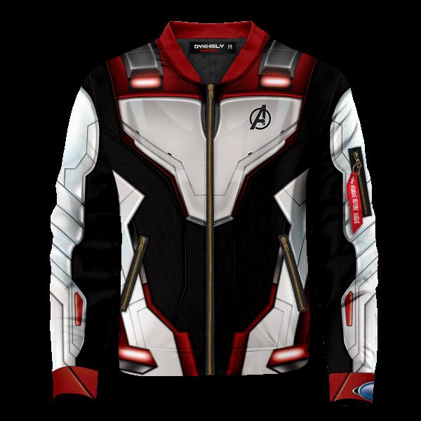 Bomber Jacket I Quantum Suit front - Anime Jacket