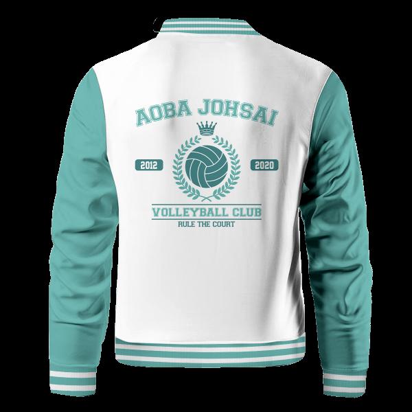 Bomber Jacket I Seijoh Rule The Court Back bf633276 05cc 48b9 aeeb e52509cb5a75 - Anime Jacket