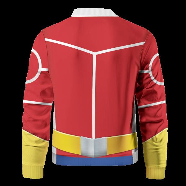Bomber Jacket I Toshinori Yagi Silver Age back - Anime Jacket
