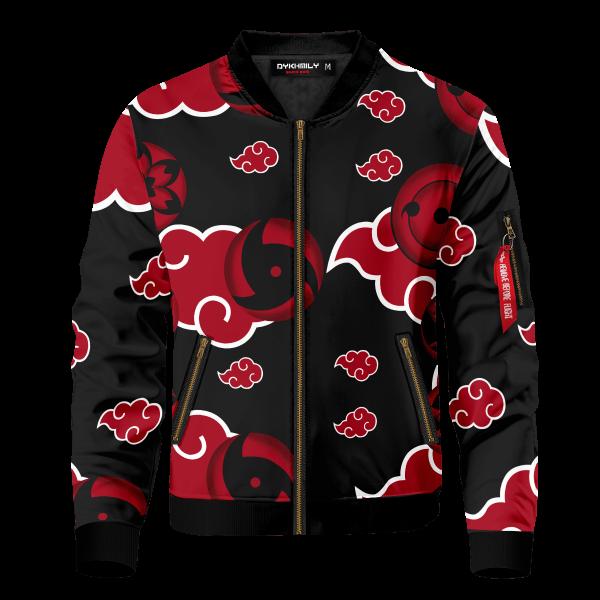 akatsuki sharingan bomber jacket 440438 - Anime Jacket