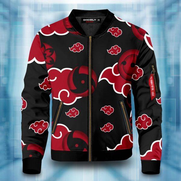 akatsuki sharingan bomber jacket 950097 - Anime Jacket