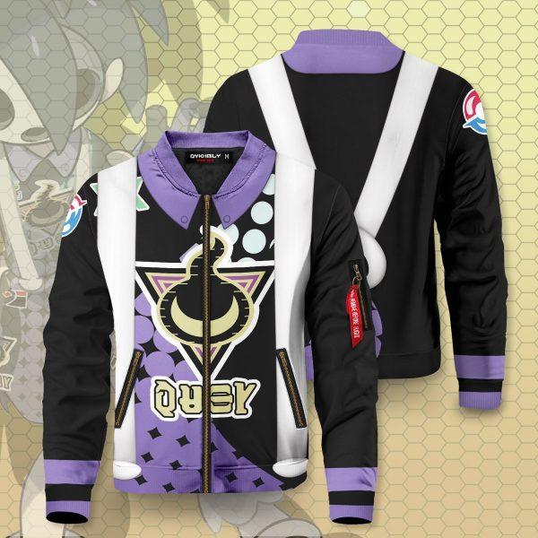 allister stow on side gym bomber jacket 350136 - Anime Jacket