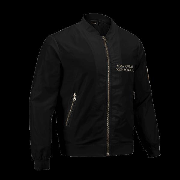 aoba johsai rally bomber jacket 302758 - Anime Jacket