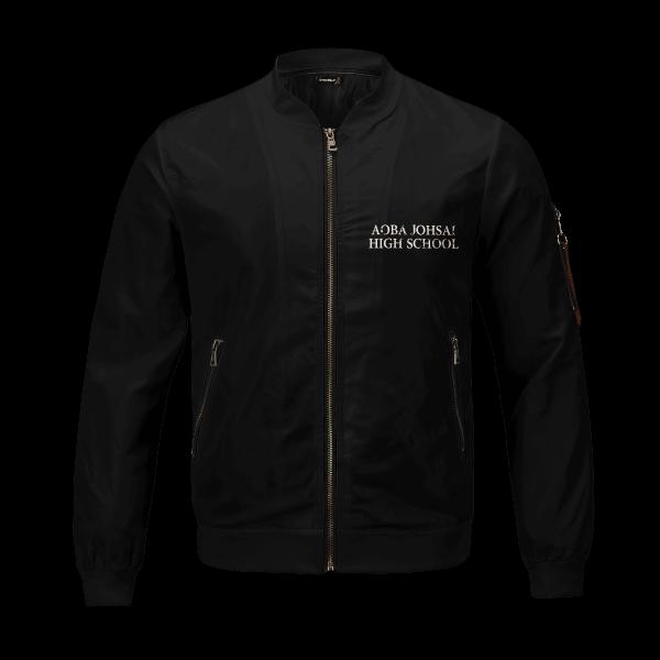 aoba johsai rally bomber jacket 577481 - Anime Jacket