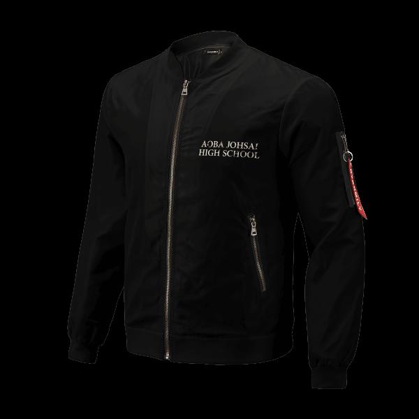 aoba johsai rally bomber jacket 702464 - Anime Jacket