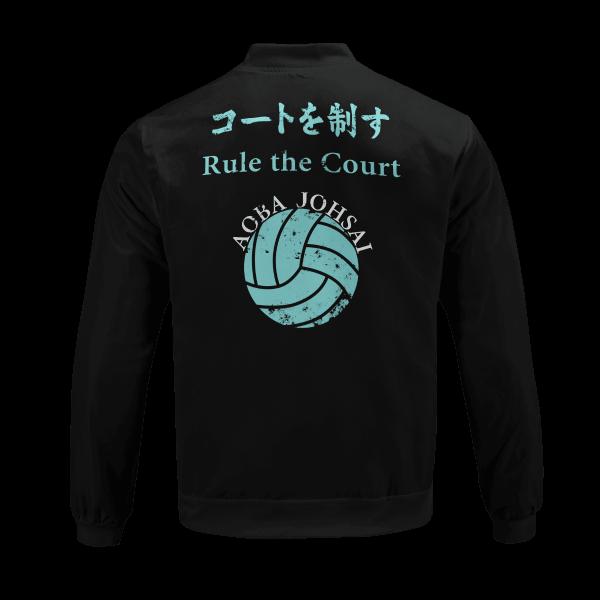 aoba johsai rally bomber jacket 833184 - Anime Jacket