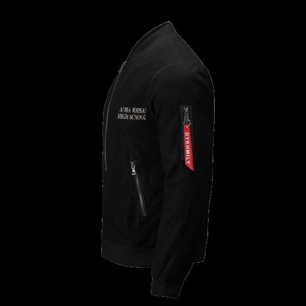 aoba johsai rally bomber jacket 941369 - Anime Jacket