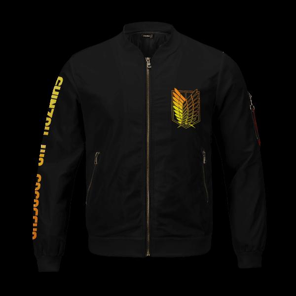 aot power four bomber jacket 151320 - Anime Jacket