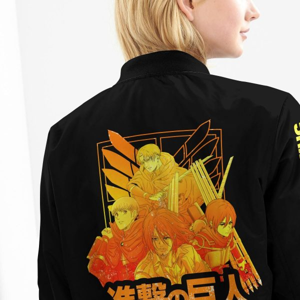 aot power four bomber jacket 161727 - Anime Jacket