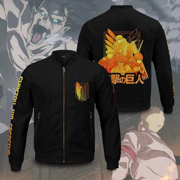 aot power four bomber jacket 216399 - Anime Jacket