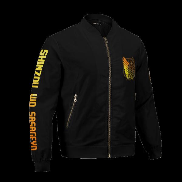 aot power four bomber jacket 280904 - Anime Jacket