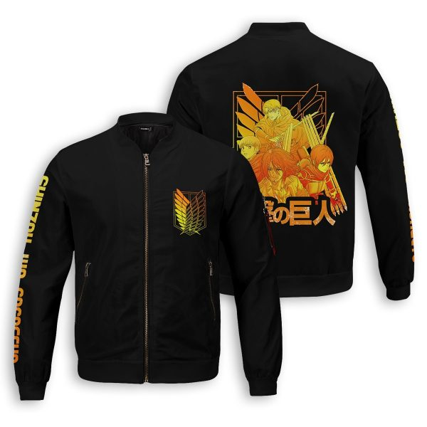 aot power four bomber jacket 398513 - Anime Jacket