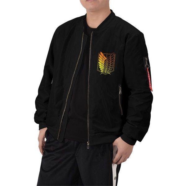 aot power four bomber jacket 442845 - Anime Jacket