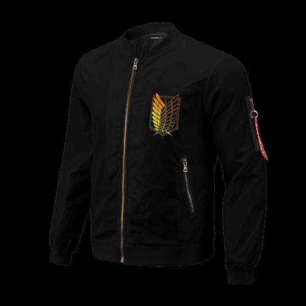 aot power four bomber jacket 579574 - Anime Jacket