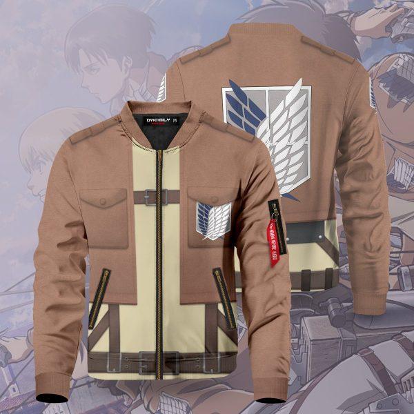 aot scout regiment bomber jacket 118759 - Anime Jacket