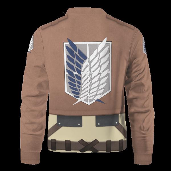 aot scout regiment bomber jacket 707980 - Anime Jacket