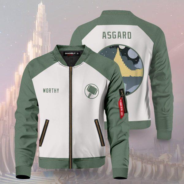 asgard worthy bomber jacket 277777 - Anime Jacket