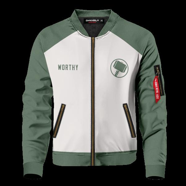 asgard worthy bomber jacket 506940 - Anime Jacket