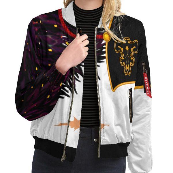 asta demon skin bomber jacket 242453 - Anime Jacket
