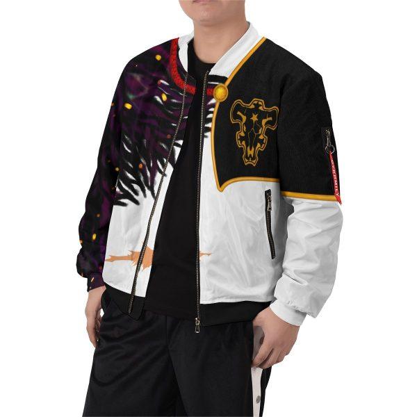 asta demon skin bomber jacket 270406 - Anime Jacket