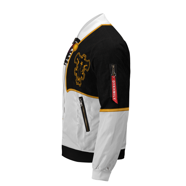 asta demon skin bomber jacket 354792 - Anime Jacket