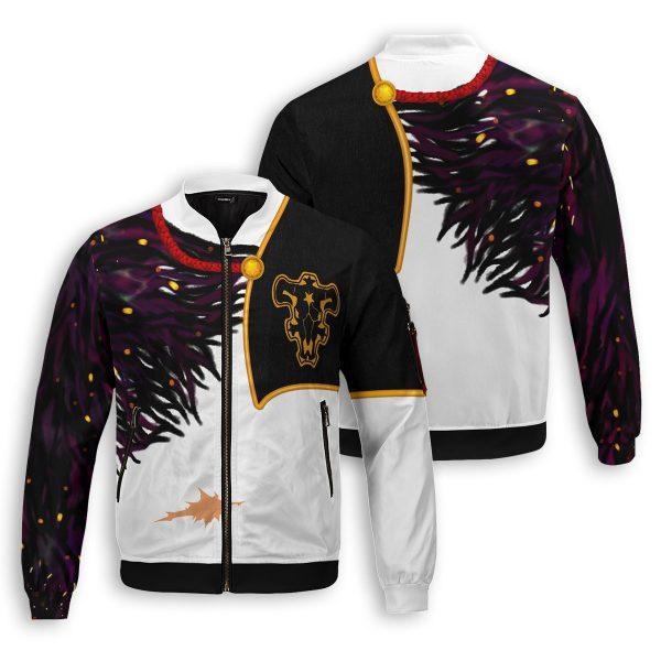 asta demon skin bomber jacket 583207 - Anime Jacket