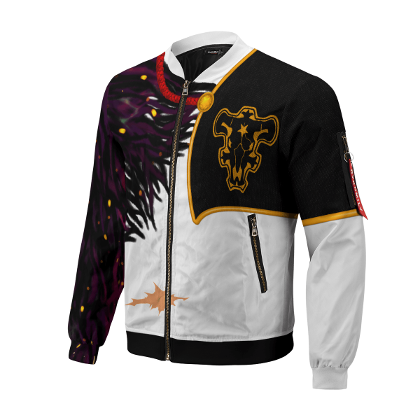 asta demon skin bomber jacket 678953 - Anime Jacket