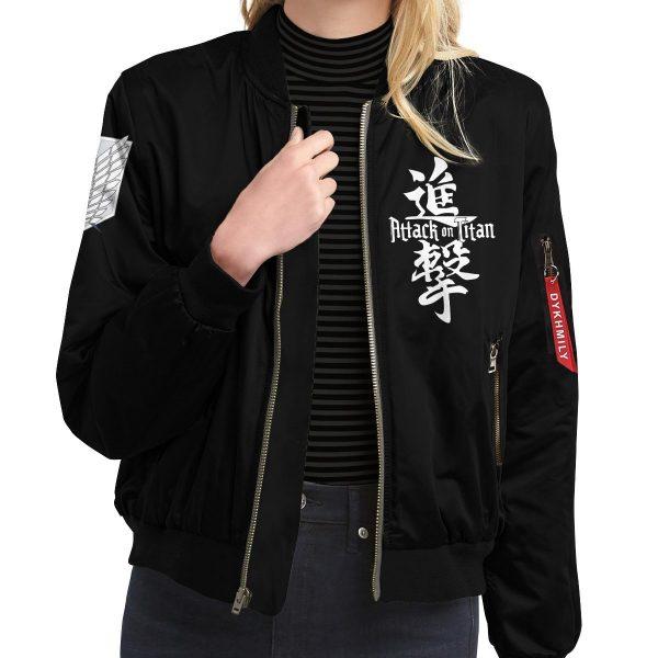 attack on titan bomber jacket 161263 - Anime Jacket