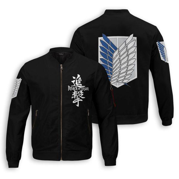 attack on titan bomber jacket 566411 - Anime Jacket