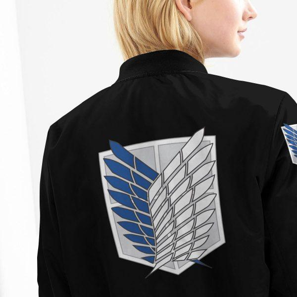 attack on titan bomber jacket 741125 - Anime Jacket