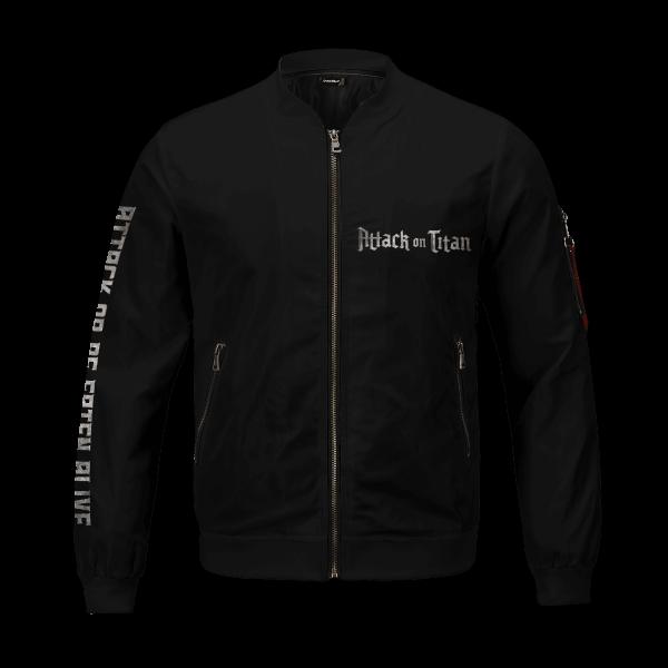 attack or be eaten alive bomber jacket 118672 - Anime Jacket