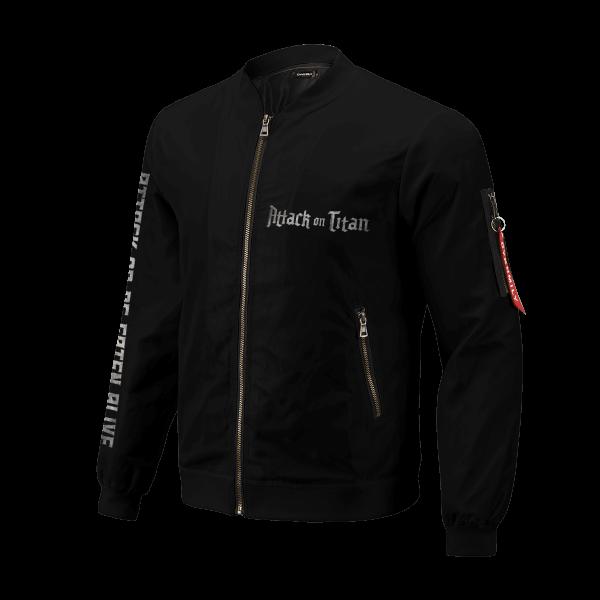 attack or be eaten alive bomber jacket 313697 - Anime Jacket