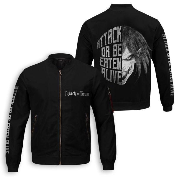 attack or be eaten alive bomber jacket 506572 - Anime Jacket